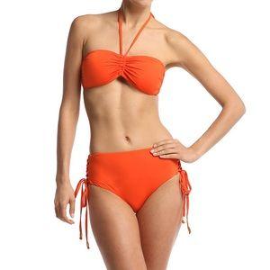 Set NWT WET div Beach Rays orange two piece swim