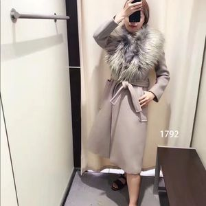 Jackets & Blazers - Max Mara fur coat