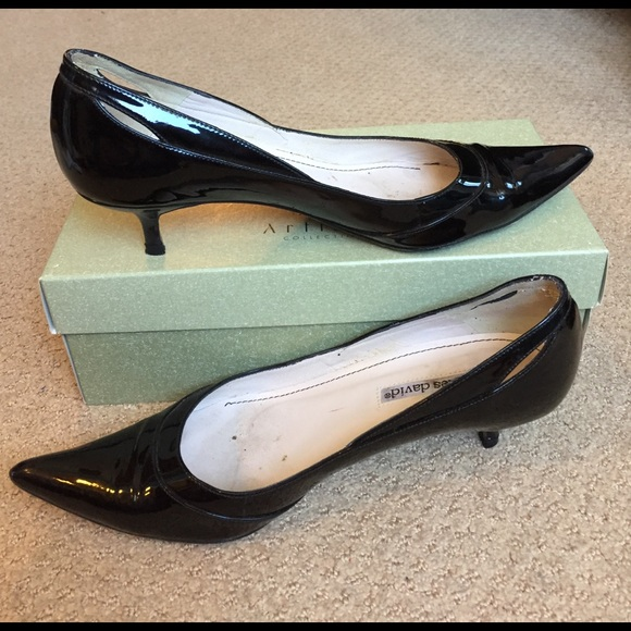 Charles by Charles David Charles by Charles David Kitten (Black Leather) Women's 1 2 inch heel Shoes from Zappos | People