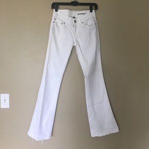 Gap White Flare Jeans