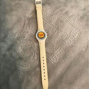 coca cola swatch watch 1980s