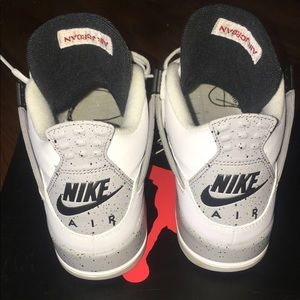 4b0199c7650583 Jordan Shoes - 🔥White Cement 4s Og All VNDS worn 1x Size 6.5 🔥
