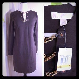 Michael Kors Chocolate Brown Dress Size Small
