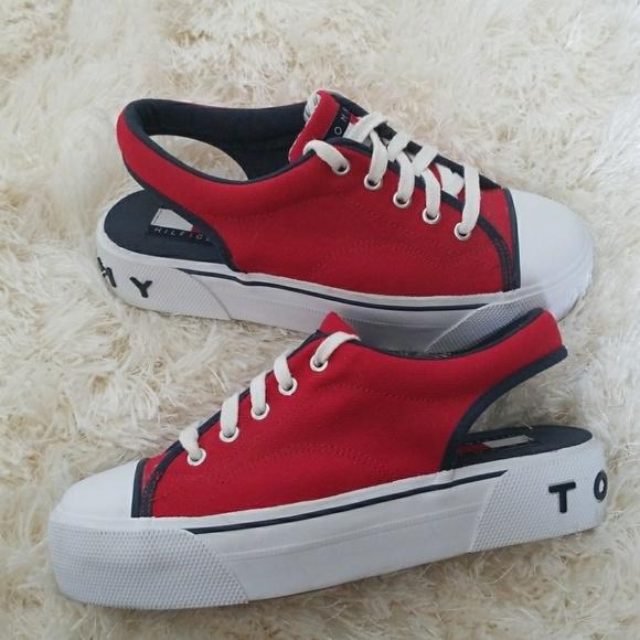 4afb3b263944c0 Tommy Hilfiger 90s platform sneakers sling back. M 597a2d2a56b2d6a868024e8c
