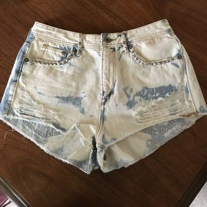 H&M high waisted shorts size 8