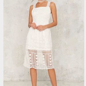 🆕💚Nasty Gal Coppola Crochet dress   rack 2
