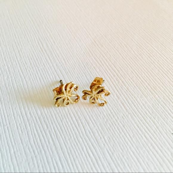 ca1f27468 Catherine Weitzman Jewelry | Mini Octopus Stud Earrings By | Poshmark