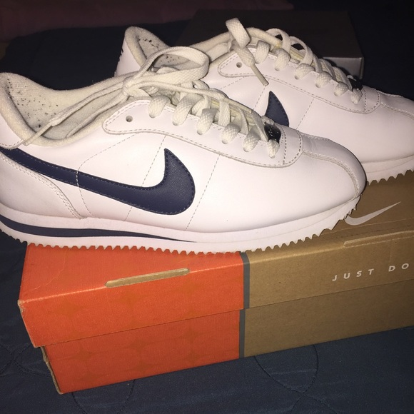 Navy Blue Cortez Shoes