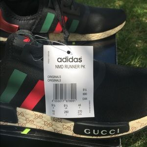 brand new c5284 47bf0 Adidas NMD R1 boost x GUCCI by (adidas original) Boutique