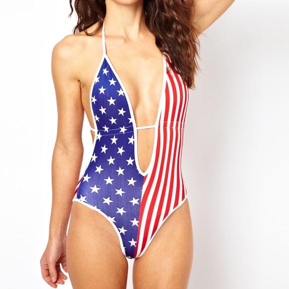 6f1a85f903 American Apparel Swim | Usa One Piece Suit Nwt | Poshmark