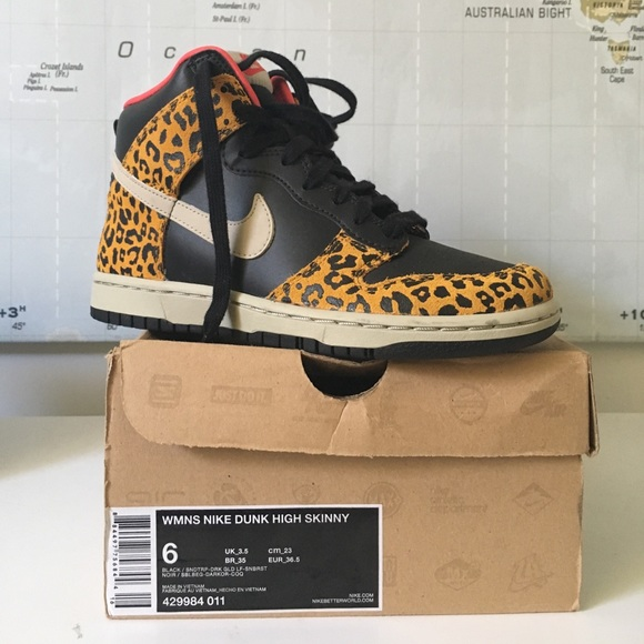 e31aaab4a283 Women's Funky Leopard Nike Dunk Hi-top. M_597a3df5713fdead9e02b686
