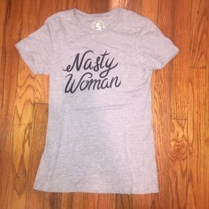 NWOT Nasty Woman T shirt size Small