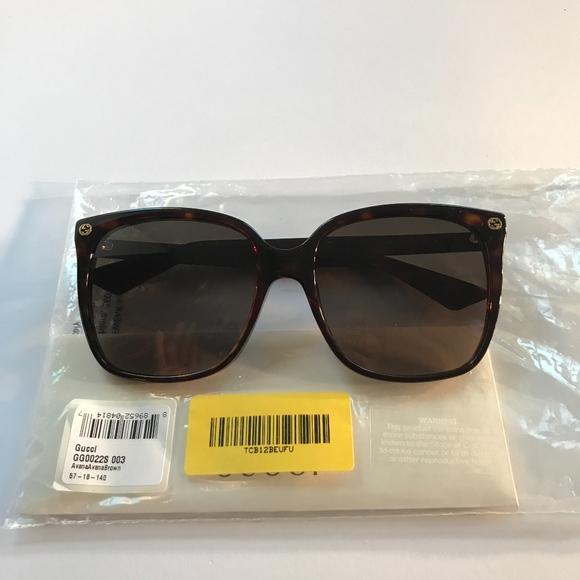 e00c37c3606 Gucci Sunglasses GG0022S 003 Womens Sunglasses