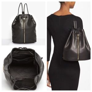 Elizabeth and James Leather Sling Backpack