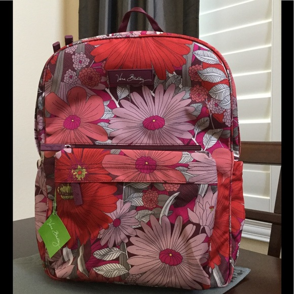 a3a53c015df3 NWT VERA BRADLEY LIGHTEN UP GRANDE LAPTOP BACKPACK