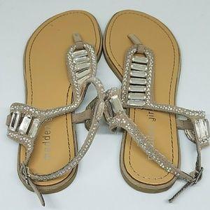 9e520a05c6e62 Madden Girl Shoes - Madden Girl Bling Sandals