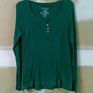 Maurices green long sleeve shirt