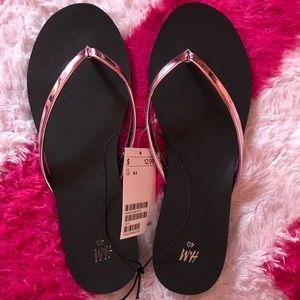 H&M Pink Flip Flops