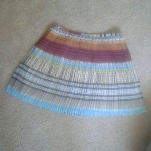 Dresses & Skirts - Multicolored pleated skirt