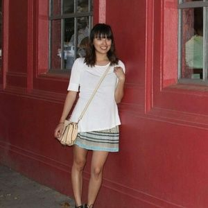 Dresses & Skirts - Multicolored pleated skirt