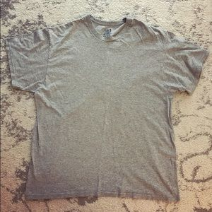 Soft plain gray t-shirt