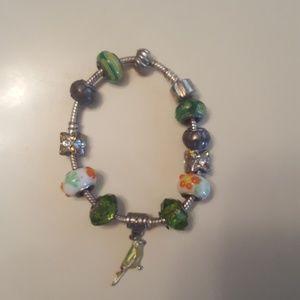 Jewelry - Slightly used charm bracelet very nice