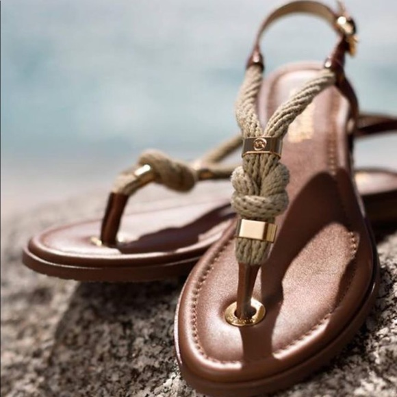 4fecbea74983 Michael Kors holly rope sandals