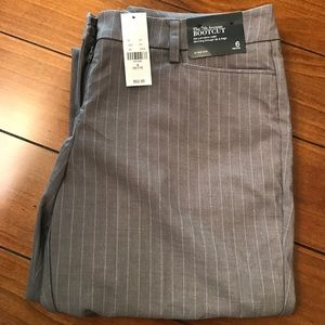 NWat Limited | Bootcut Gray Striped Dresspants 6
