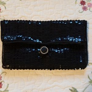 Handbags - REDUCED Vintage Norell  Sequin Clutch