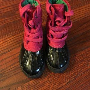 Ralph Lauren girl boots size 7