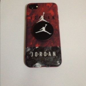 Accessories - Black and white Jordan's case for iPhone 6/6+/7/7+
