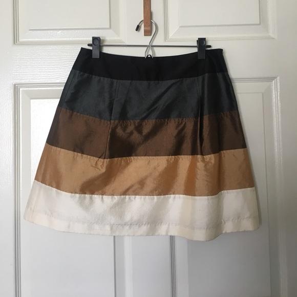 da84460f9 Anthropologie Skirts   Tracy Reese Plenty Metallic Skirt 6   Poshmark