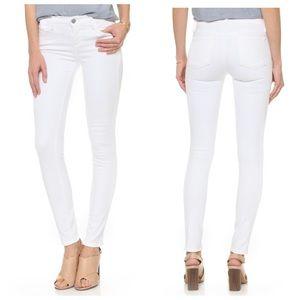 J Brand White Skinny  Leg Jeans, 29