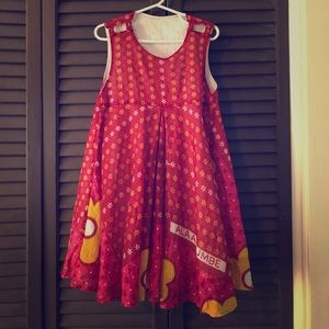 Other - Artisan Made African Fabric Girl's Dress