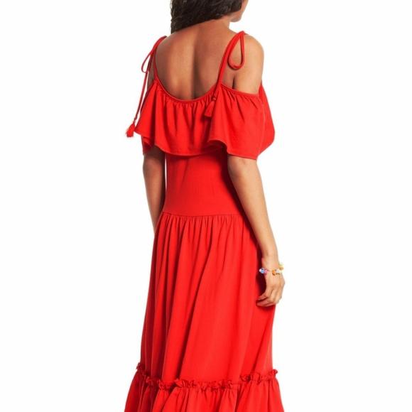 3d39ac2ecdfa97 Rebecca Minkoff  Mojave  Dress Red. M 597a882fd14d7b39b9002903