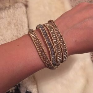 Anthropologie Wrap around bracelet