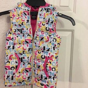 ❤️💙coogie 3T hoodie Vest zip up puffed