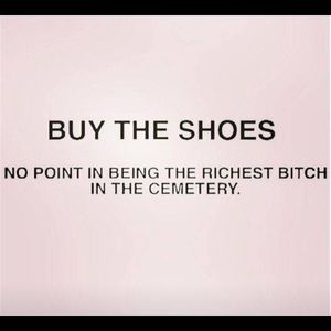 BUY THE SHOES! 👠