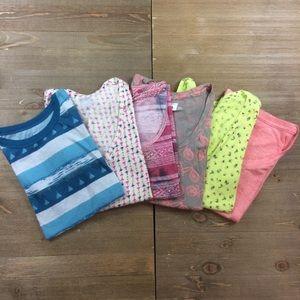 BDG Lot of 6 Short Sleeve Tee Shirts