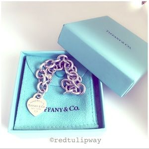 🌹SOLD🌹Tiffany & Co. RTT Mini Heart Tag Bracelet