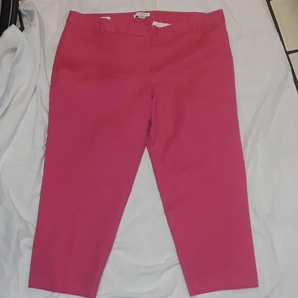 9922a0ba67e0d Liz Claiborne Pants - LIZ CLAIBORNE PLUS SIZE WOMEN EMMA CAPRI PANTS