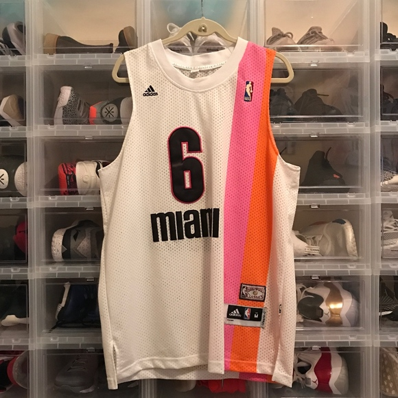 reputable site 2dd10 44292 miami heat floridians jersey for sale