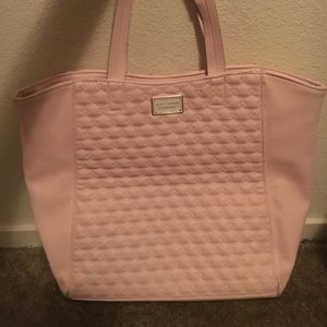 Betsey Johnson pink tote