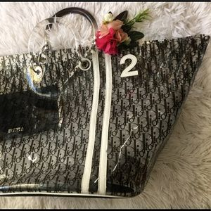 Women's Dior Beach Bag on Poshmark