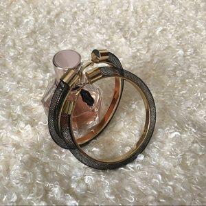 Jewelry - NWT Mesh hoops + Tassel hoops color black EA3