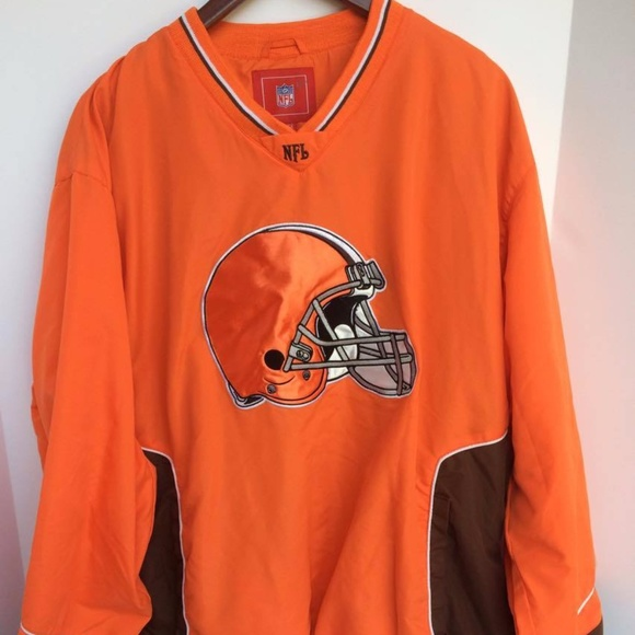 size 40 442b9 85dc8 NFL Cleveland Browns Mens Pullover Sweater X-Large