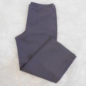 Eileen Fisher Gray Dress Pants Cropped Capris Sz S
