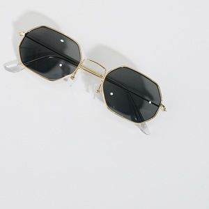 LF Accessories - Vintage black sunglasses inspired by lf