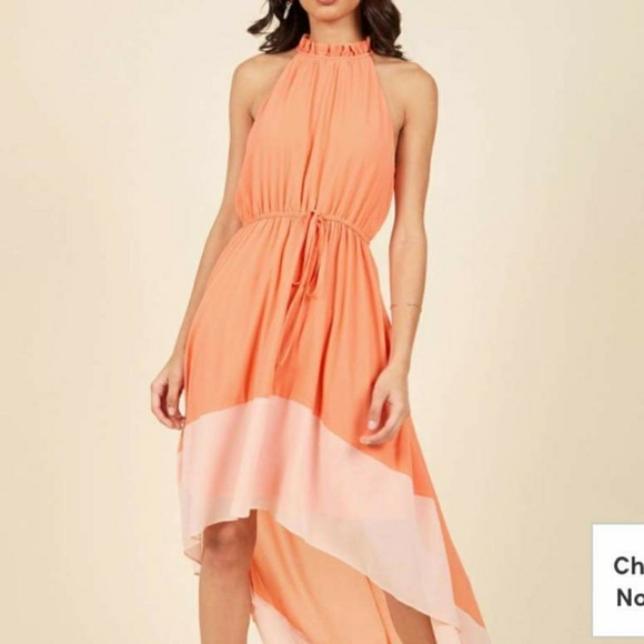 Modcloth Dresses & Skirts - 🚫SOLD🛇 Befitting of Fame maxi dress in peach, 1X