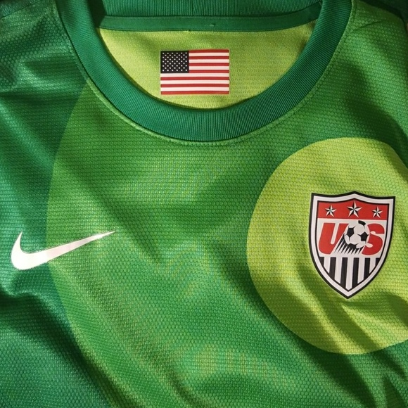 detailed look c23e3 58d5a Nike USWNT Goalkeeper Jersey